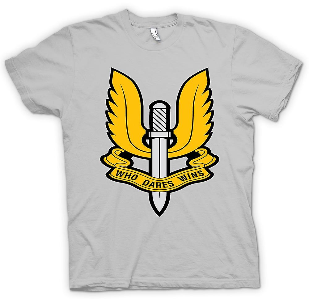 Herr T-shirt-SAS Special Forces Badge