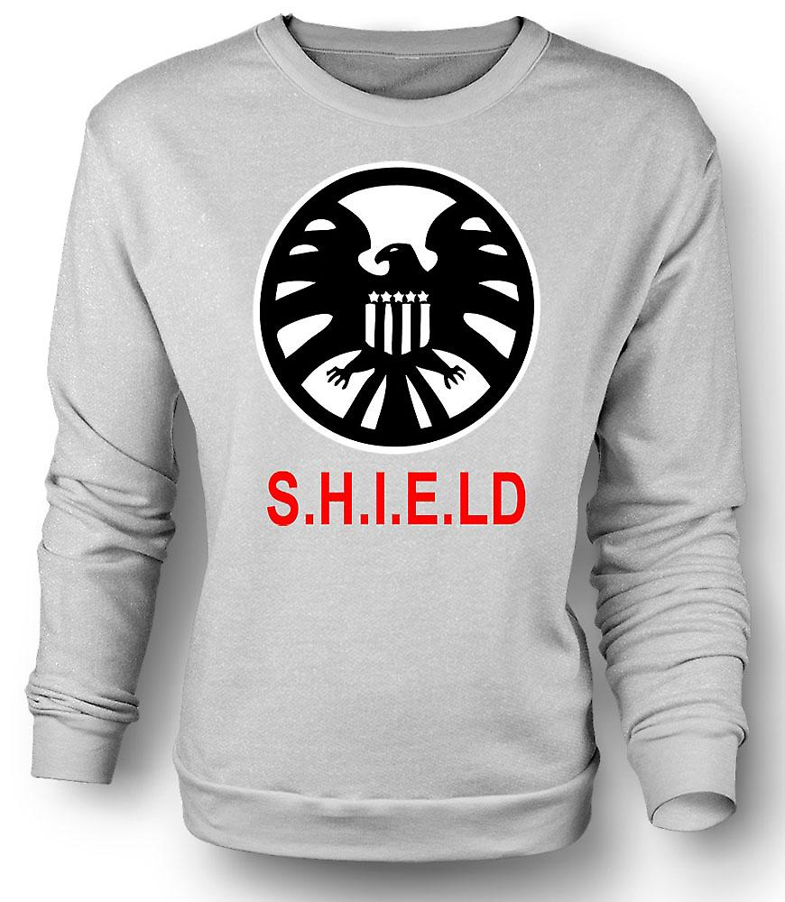 Mens Sweatshirt SHIELD Avengers Logo