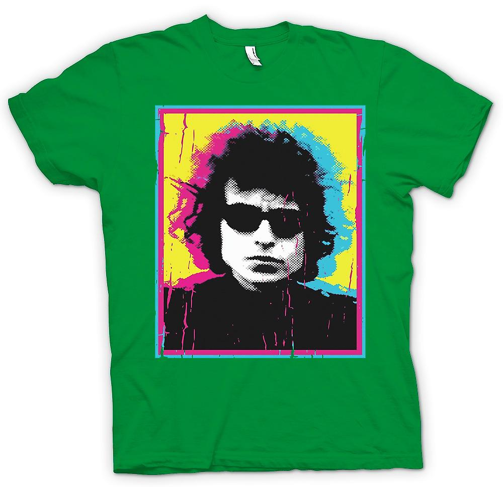 Mens t-shirt - psichedelico Bob Dylan - Swinging 60s