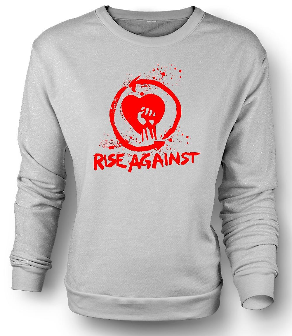Mens Sweatshirt Rise Against The Machine - Funny