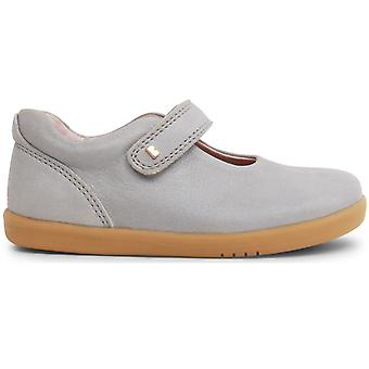 Bobux I-walk Girls Delight Shoes Silver Shimmer