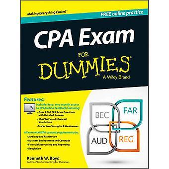 CPA eksamen For Dummies af Kenneth W. Boyd - forbruger Dummies - 97811188