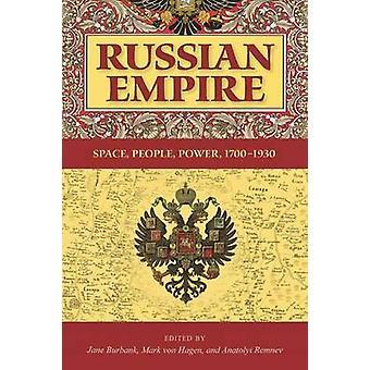 Russiske Kejserrige - plads - folk - effekt - 1700-1930 af Jane Burbank-