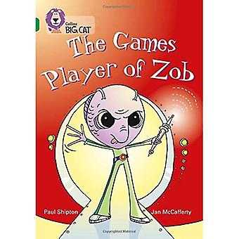 The Games Player of Zob: Band 15/Emerald Phase 5, Bk. 20 (Collins Big Cat)