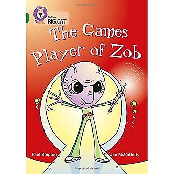 Il giocatore di giochi di Zob: banda 15/Emerald fase 5, BK 20 (Collins Big Cat)