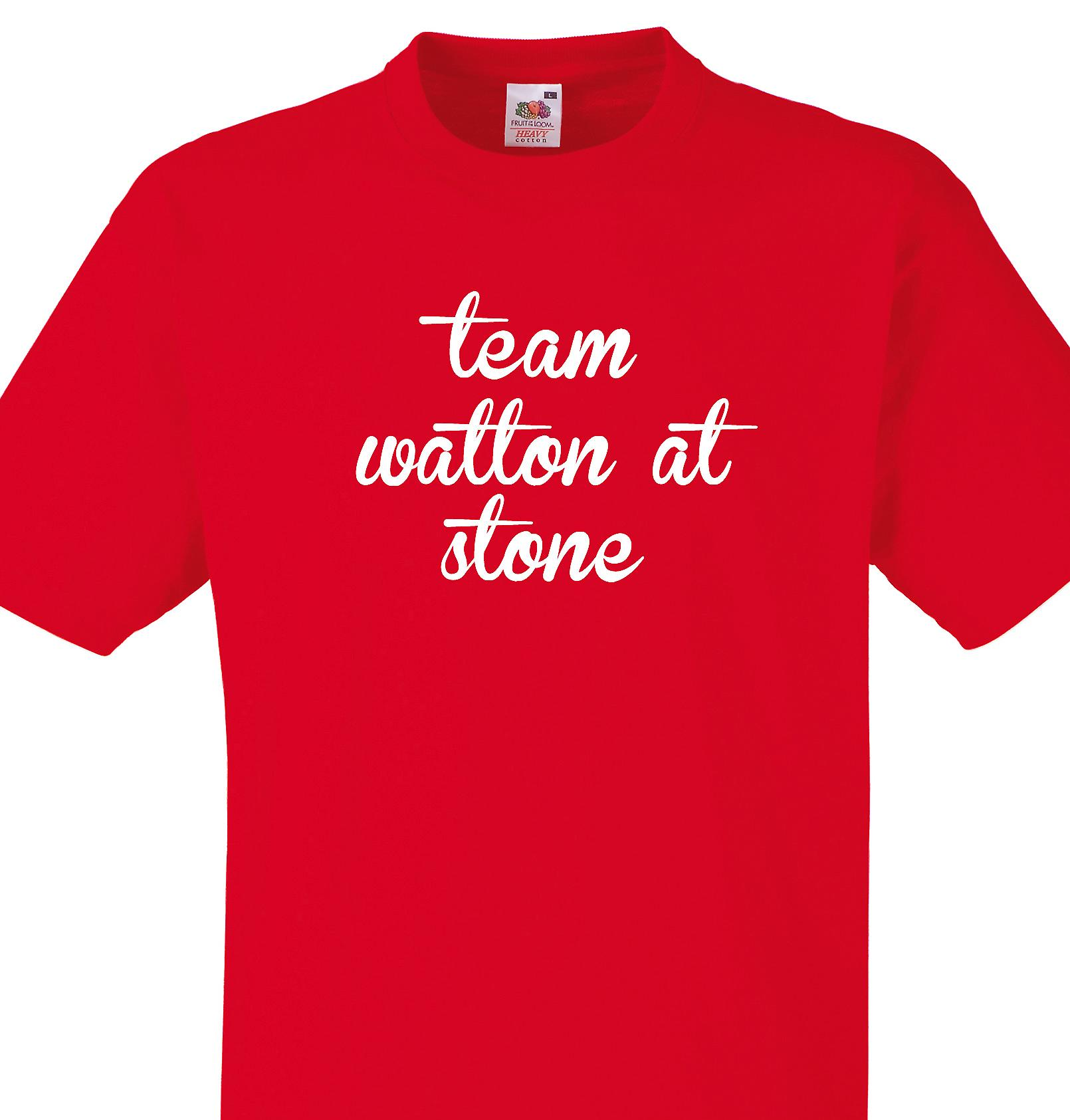 Team Watton at stone Red T shirt