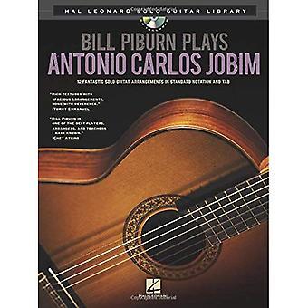 Bill Piburn Plays Antonio Carlos Jobim (Hal Leonard Solo Guitar Library)