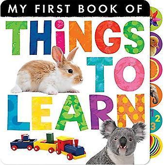 Dingen om te leren (My First Book of)