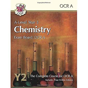 New 2015 A-Level Chemistry for OCR A: Year 2 Student Book with Online Edition