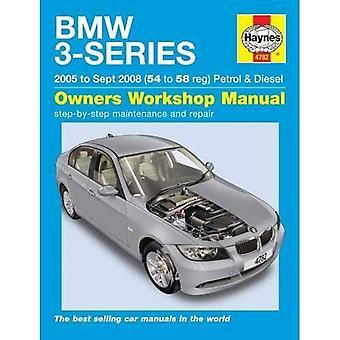 BMW 3-serie benzine en Diesel Service en reparatie handleiding