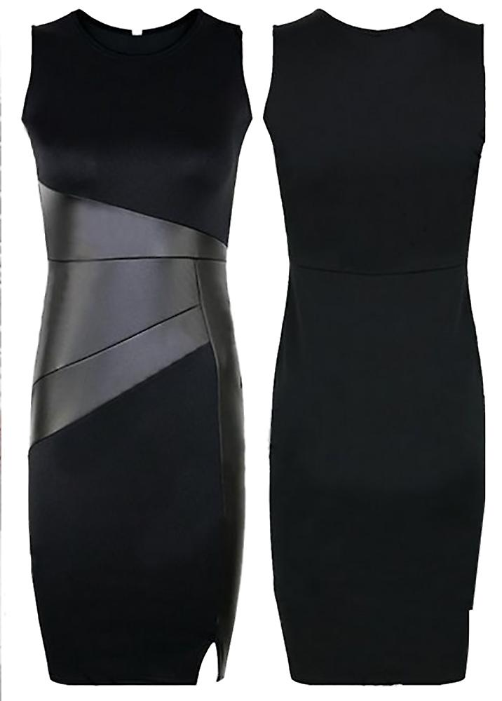Waooh - feminine dress bi-material Pauch