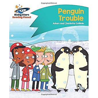 Lezing planeet - Penguin Trouble - Turquoise: Komeet Street Kids (Rising Stars planeet lezen)