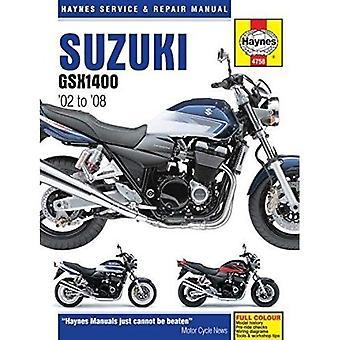 Suzuki GSX 1400: (02 - 08)