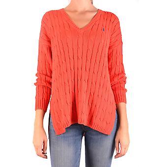 Ralph Lauren Orange Cotton Sweater