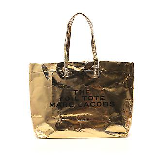 Marc Jacobs Gold Plastic Tote