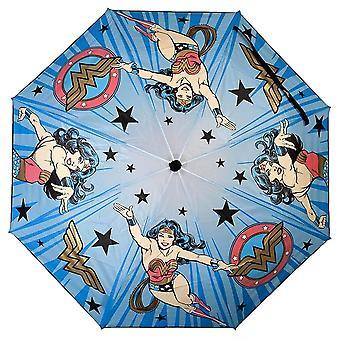 Wonder Woman Liquid Reactive Compact Umbrella