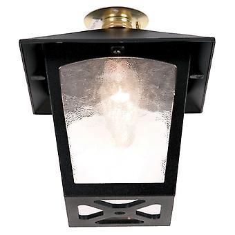 York Flush Porch Lantern