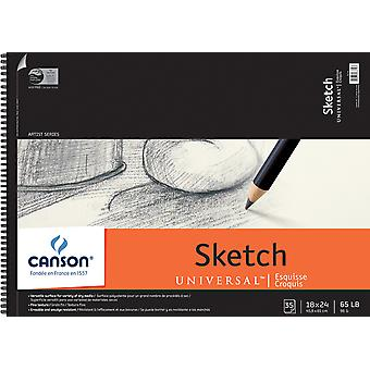Canson Universal Sketch Book 18
