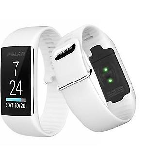 Fitness tracker with integrated hear rate monitor Polar A360 White White