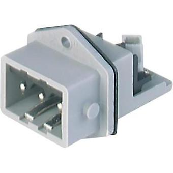Mains connector Plug, vertical mount Total number of pins: 3 + PE 16 A Grey Hirschmann STASEI 3 1 pc(s)