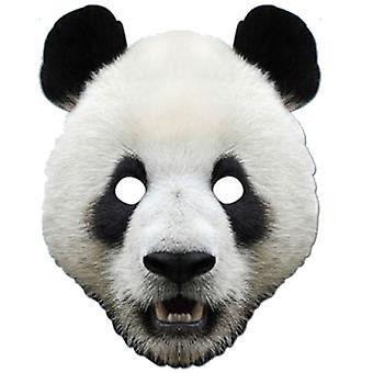 Máscara festa cartão Animal Panda