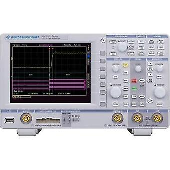 Digital Rohde & Schwarz HMO1232 300 MHz 1 null 1 null 8 Bit Calibrated to Manufacturer standards