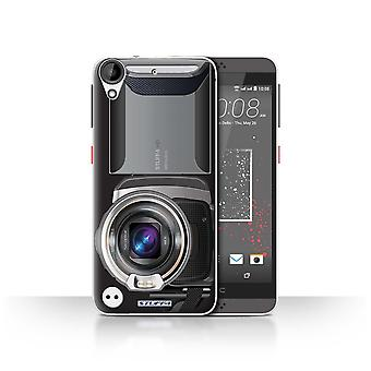 STUFF4 Case/Cover for HTC Desire 630/Video Camcorder/Camera