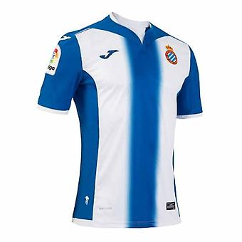 2016-2017 Espanyol Joma Home Football Shirt