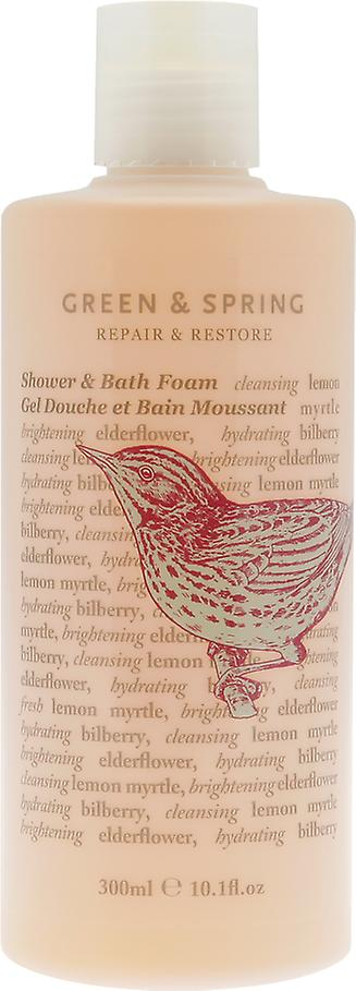 Green & Spring Repair & Restore Shower & Bath Foam