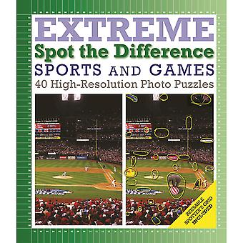 Thunder Bay Press Books-Sports & Games: Spot The Difference TBP-500