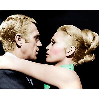 The Thomas Crown Affair From Left Steve Mcqueen Faye Dunaway 1968 Photo Print