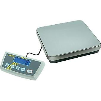 Platform scales Kern DE 6K1D Weight range 6 kg Readability 1 g, 2 g mains-powered, battery-powered, rechargeable Silver