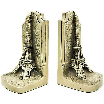 Historical Wonders Collection Eiffel Tower Bookends Art