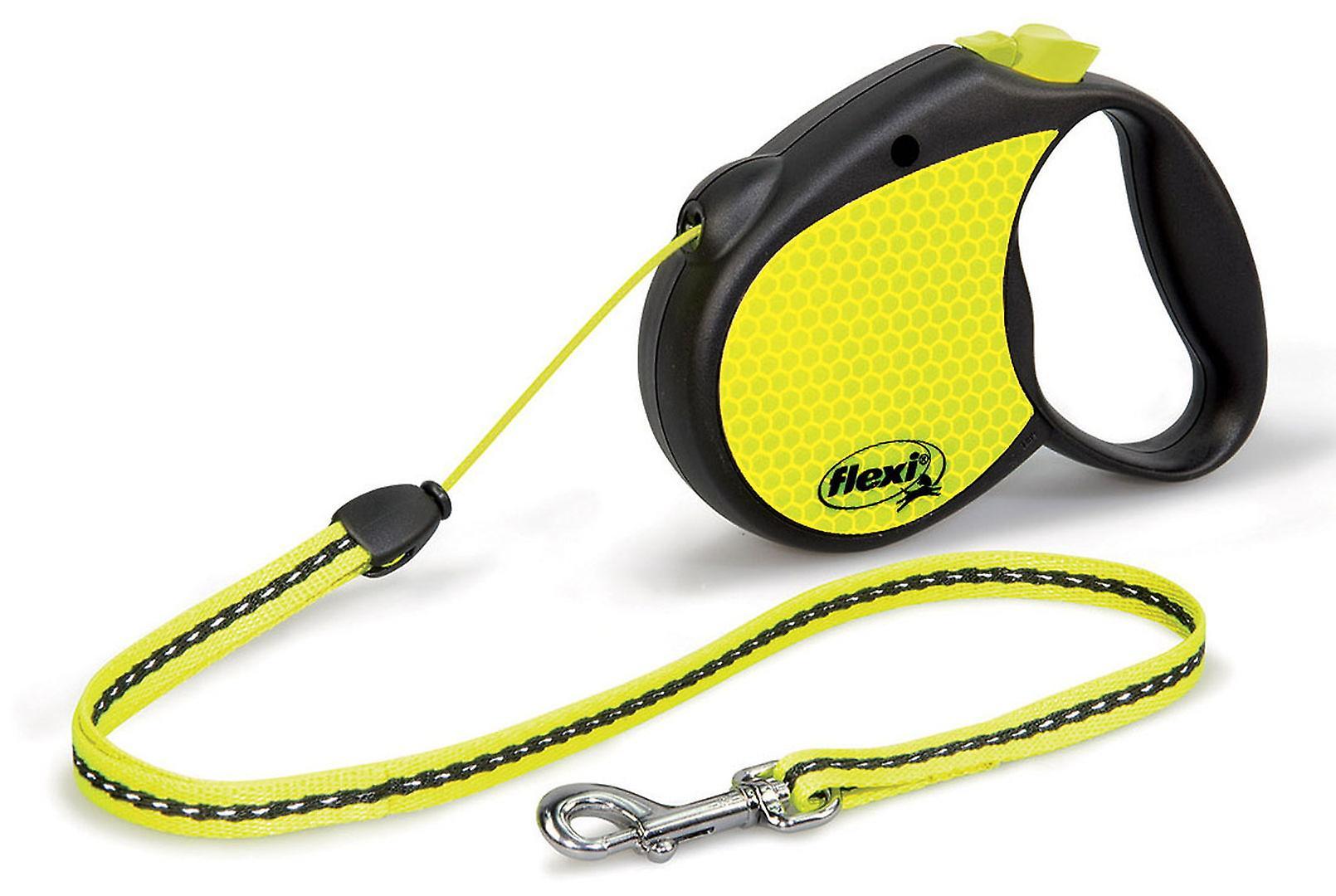 Рулетка для собак flexi neon брусничный рулетка