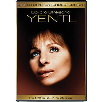 Yentl [DVD] USA import