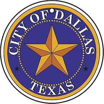 Texas Dallas City Seal auto luchtverfrisser