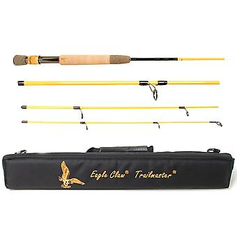 Eagle Claw 7' Trailmaster Travel Spin/Fly Fishing Rod