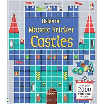 Mosaic Sticker Castles (Sticker Book) (Paperback) by Everall Nayera