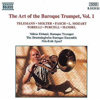 Art of Baroque Trumpet - The Art of the Baroque Trumpet, Vol. 1 [CD] USA import