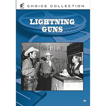 Lightning Guns [DVD] USA import