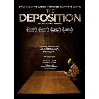 Deposition [DVD] USA importerer