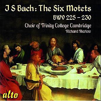 Kören av Trinity College, Cambridge Ric - Bach Jönsson: The sex motetter Bwv 225-230 [CD] USA import