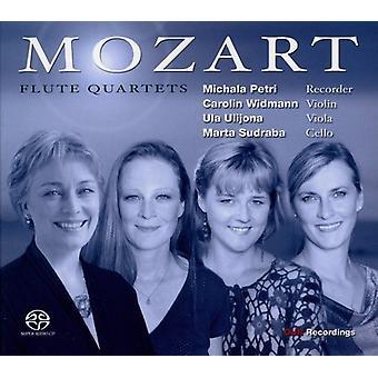 W.a. Mozart - Mozart: Fløjte kvartetter [CD] USA import