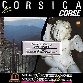 Cantarini Di Rusiu - Corsica: Religiøs musik af mundtlige Tradition [CD] USA import