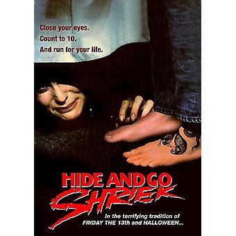 Skjul og gå skrig (1988) [DVD] USA importerer
