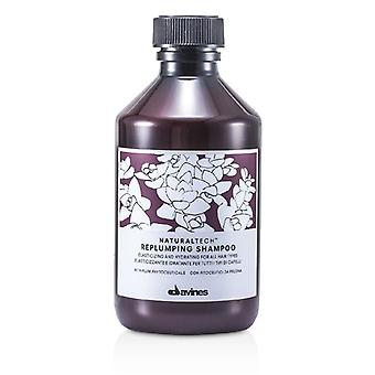 Davines Natural Tech Replumping Shampoo (For All Hair Types) 250ml/8.45oz