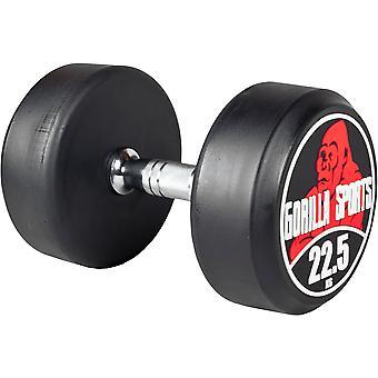 Rundhantel Schwarz/Rot 22,5 kg