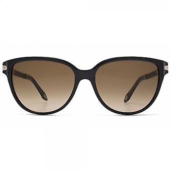 Givenchy Cateye Sunglasses In Black Brown