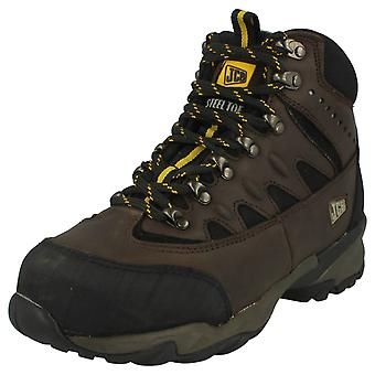 Mens JCB Waterproof Work Boot 'Trekker High'