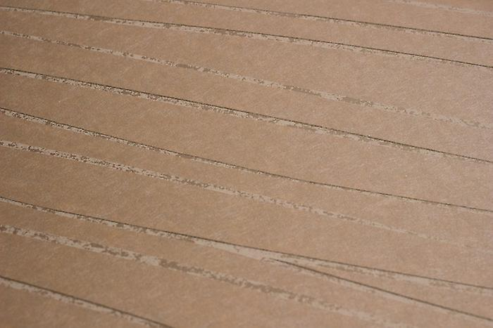 Stripes wallpaper Atlas COL-566-1 non-woven wallpaper smooth design shimmering Brown pale brown cream white 5.33 m2